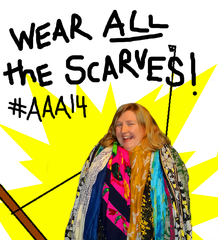 Wear All the Scarves