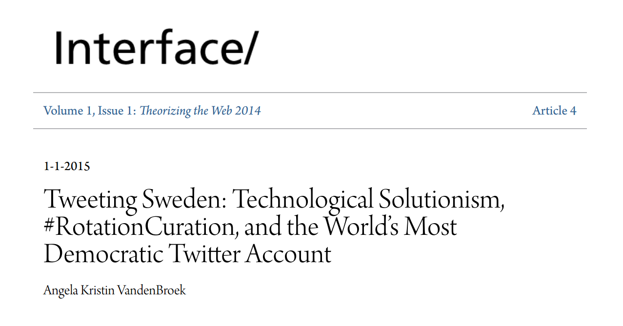 Screenshot of article title page.
